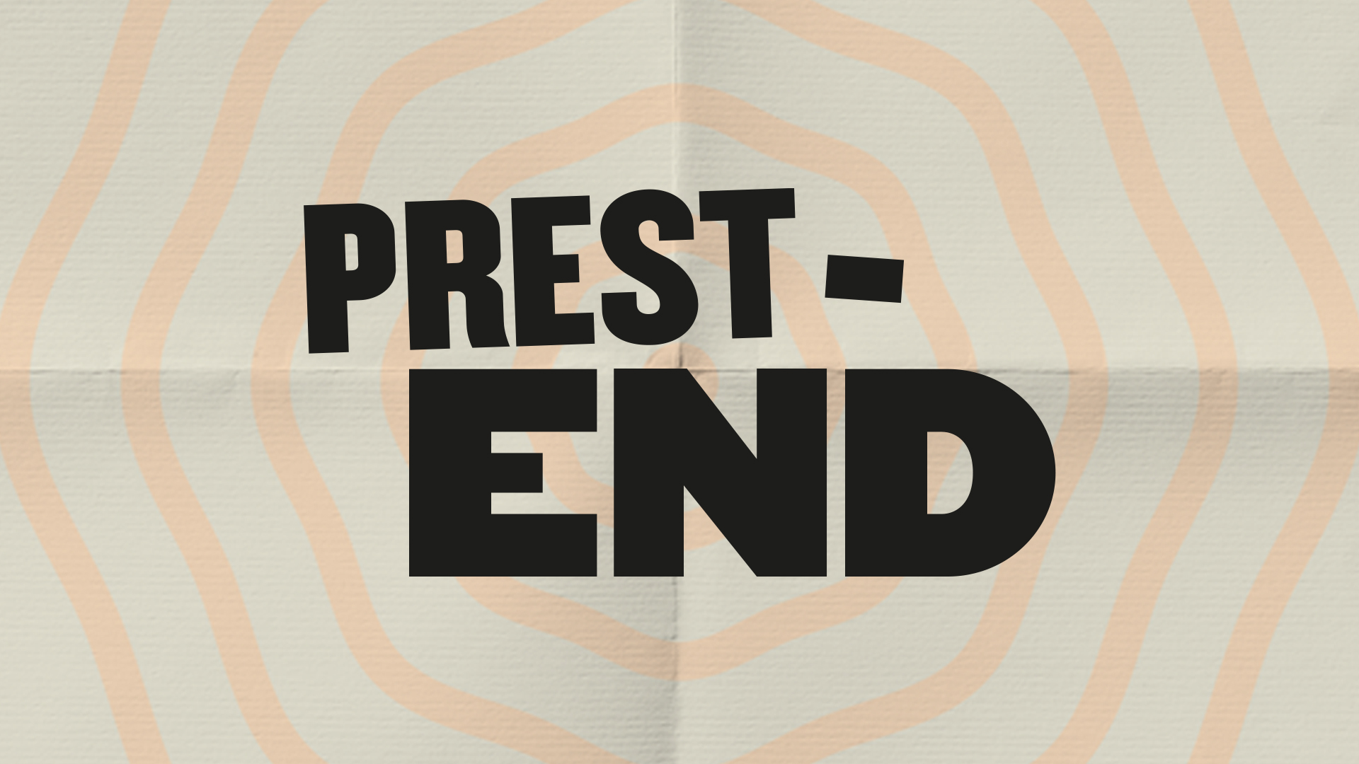 Prest-end: A Evening of Musical Theatre
