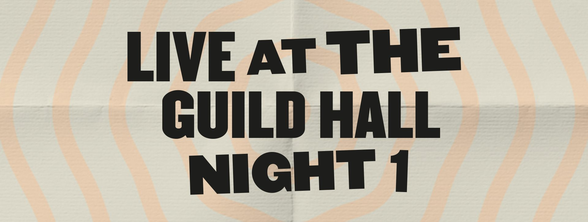 Live at the Guild Hall – A Comedy Extravaganza
